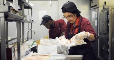 Minimum wage workers