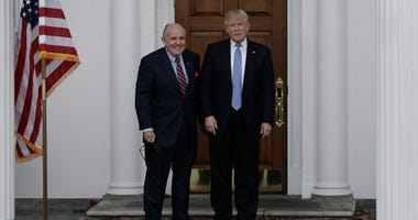 Rudy Giuliani and Donald Trump