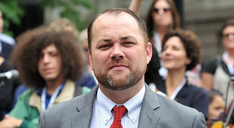 NYC Council Speaker Corey Johnson
