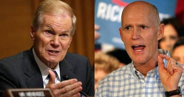 Bill Nelson and Rick Scott.