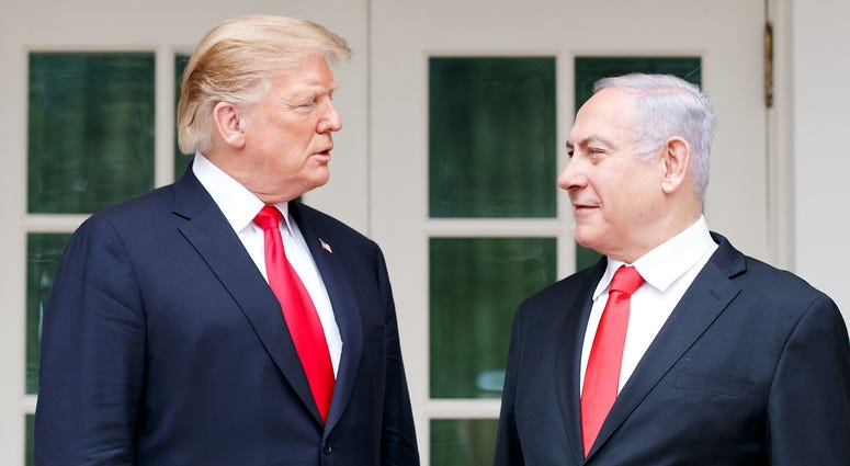 Trump Benjamin Netanyahu