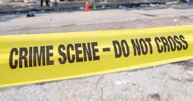 NYPD crime scene