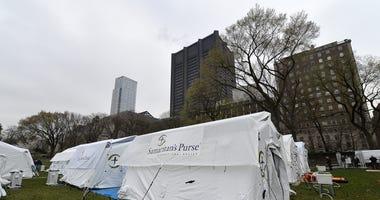 Central Park Field hospital