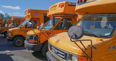 NYC school buses