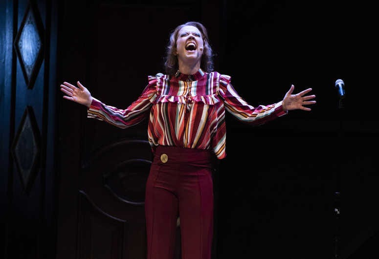 Patti Murin performs during the 24 Hour Musical.