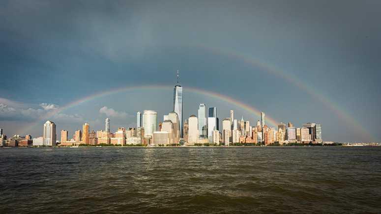 NYC Pride Rainbow