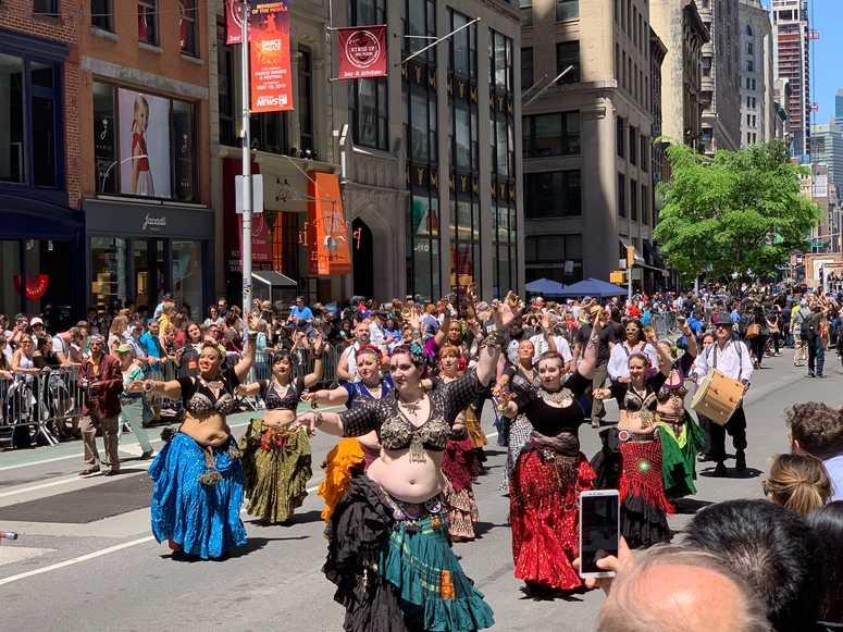 Dance parade