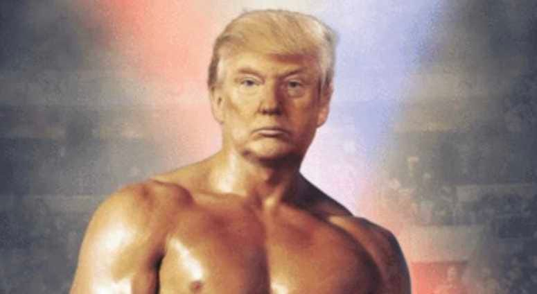 Donald Trump as Rocky