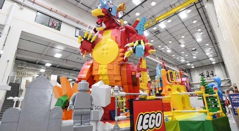 The Brick-changer by The Lego Group Float