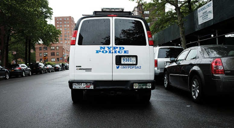 NYPD in Brownsville