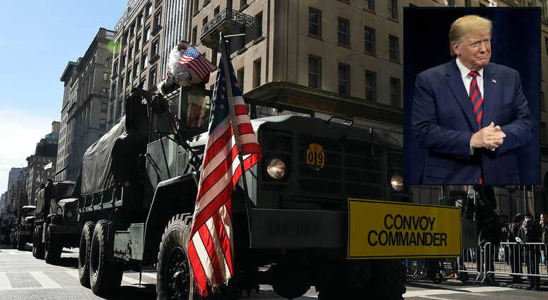 Trump Veterans Day