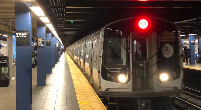 Women struck by train