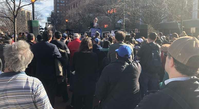 Rally against anti-Semitism Queens