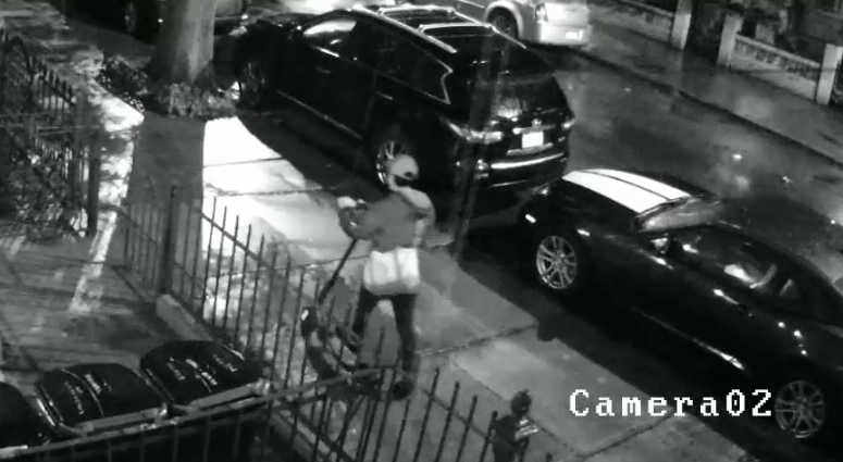 Cops say a man with a scooter has been groping women in Greenpoint.