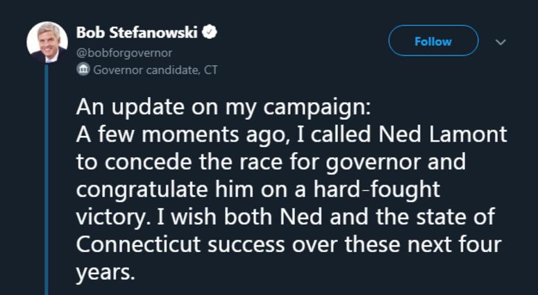stefanowski concedes