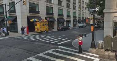Scene of chemical spill on the Upper East Side, May 28, 2019.
