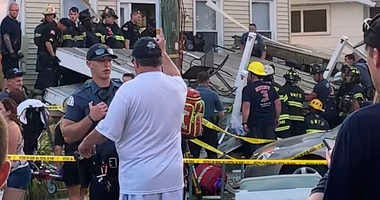 Jersey Shore deck collapse
