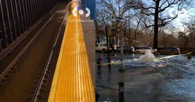Upper West Side water main break
