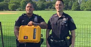 Officers Benjamin Beiro and Nicholas Noto