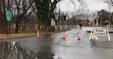 Bronx River Parkway closed from Sprain to Rte 119 because of flooding from heavy rain.