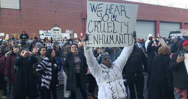 Municipal Detention Center protest