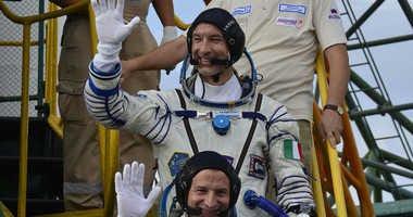 Astronaut Drew Morgan