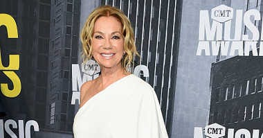 Kathie Lee Gifford attends the 2017 CMT Music Awards.