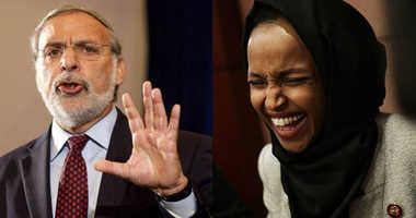 Dov Hikind and Ilhan Omar