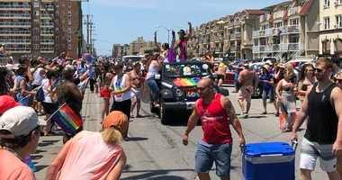 Long Island Pride Parade in Long Beach