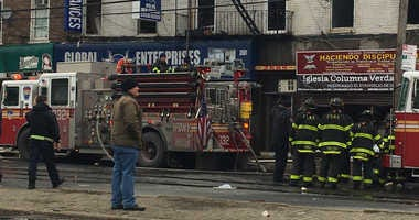 Atlantic Avenue Brooklyn fire