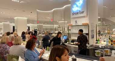 Nordstrom shoe bar