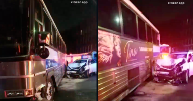 MTA bus crash Brooklyn