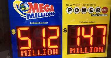The Mega Millions jackpot is now up over $512 million.
