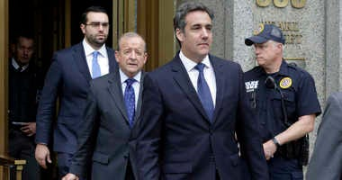 Michael Cohen arrives to court in New York, Wednesday, May 30, 2018.