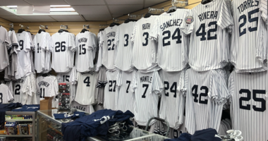 Yankee Shop in the Bronx