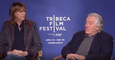 Jane Rosenthal and Robert De Niro