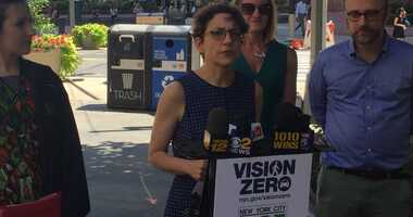 DOT Commissioner Polly Trottenberg is p0ushing Albany to keep speed cameras outside city schools.