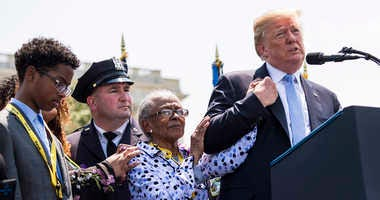 President Donald Trump, Officer Miosotis Familia's Family