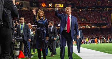 Trump LSU game