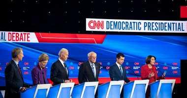 CNN Democratic Iowa debate