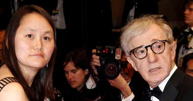 Woody Allen, right, and Soon-Yi Previn