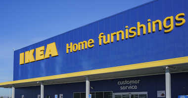 A child found a handgun while sitting on a sofa in Ikea.