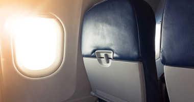 Plane interior.