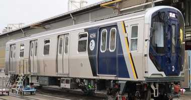 New R211 subway car