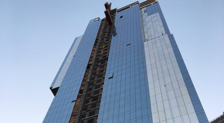 Virgin hotel site where worker was killed in elevator accident
