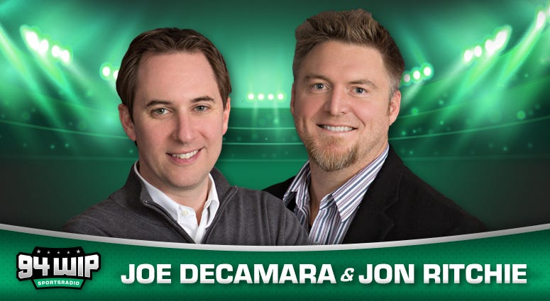 Joe DeCamara and Jon Ritchie