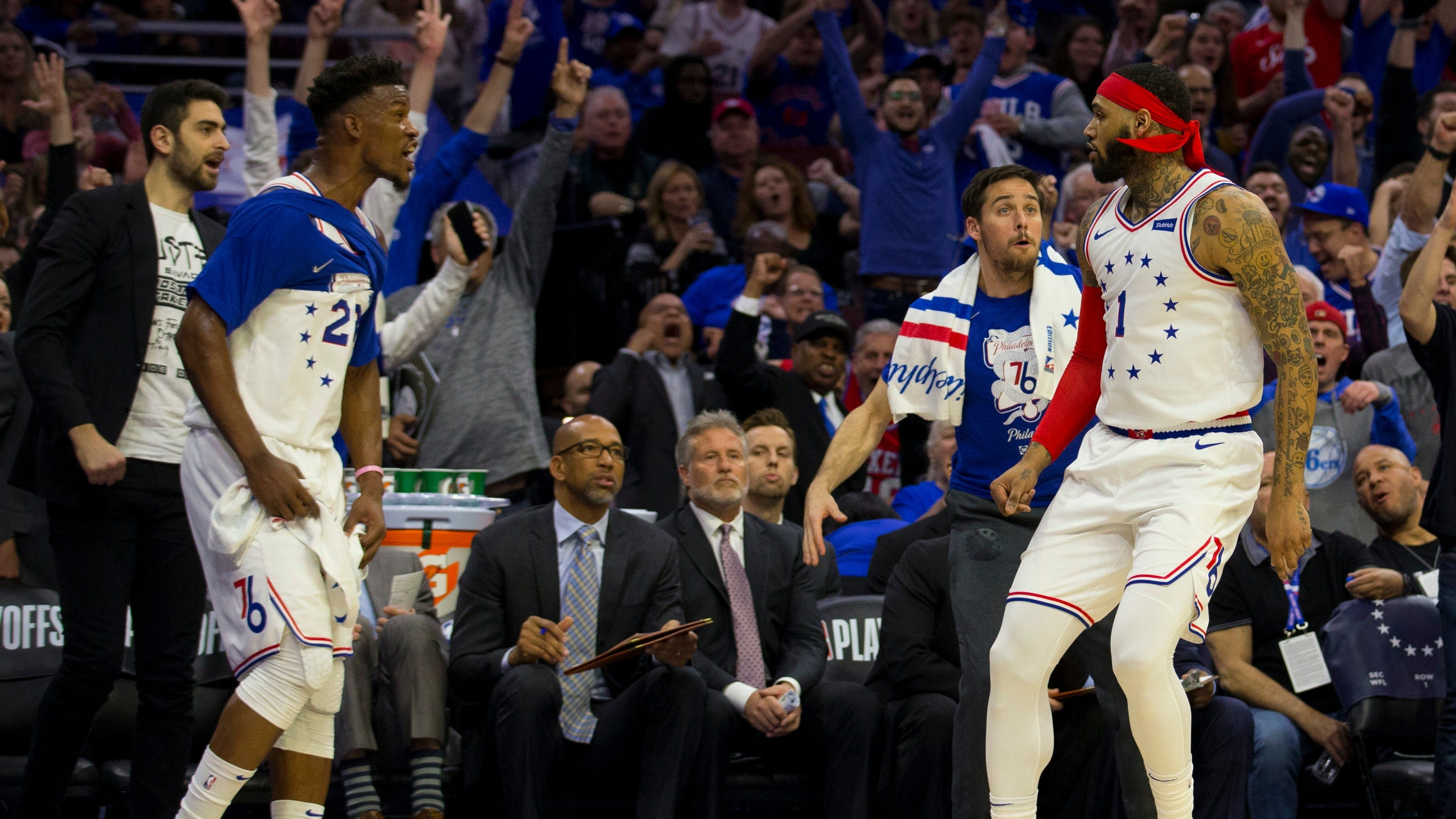 76ers Mike Scott Philly Boo The S T Jimmy Butler 94 Wip