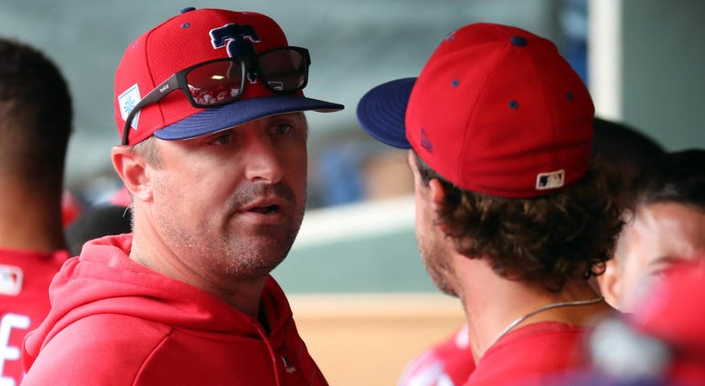 Phillies pitching coach Chris Young