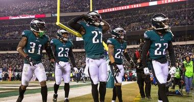 Eagles defense Cowboys