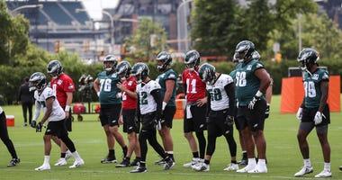 Philadelphia Eagles practice 2019